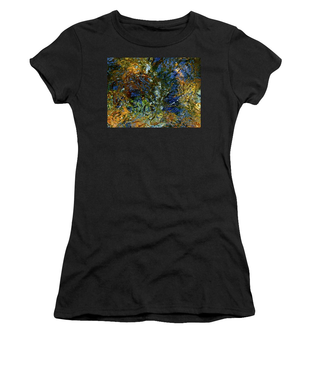 Color Close-up Landscape Women's T-Shirt (Athletic Fit) featuring the photograph Spring 2017 160 by George Ramos
