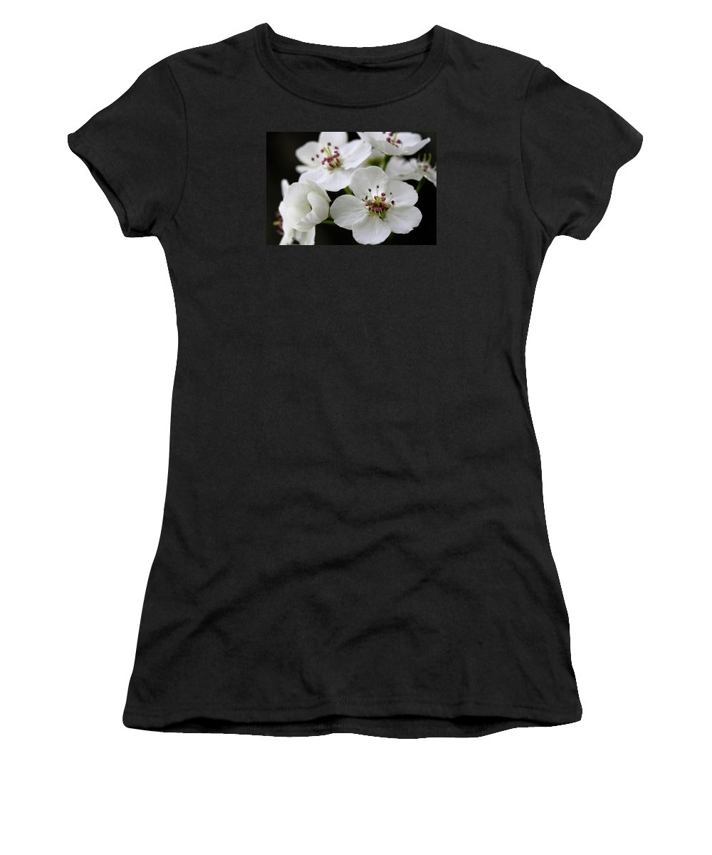 Flower Women's T-Shirt (Athletic Fit) featuring the photograph Spring Blossoms by Angela Rath