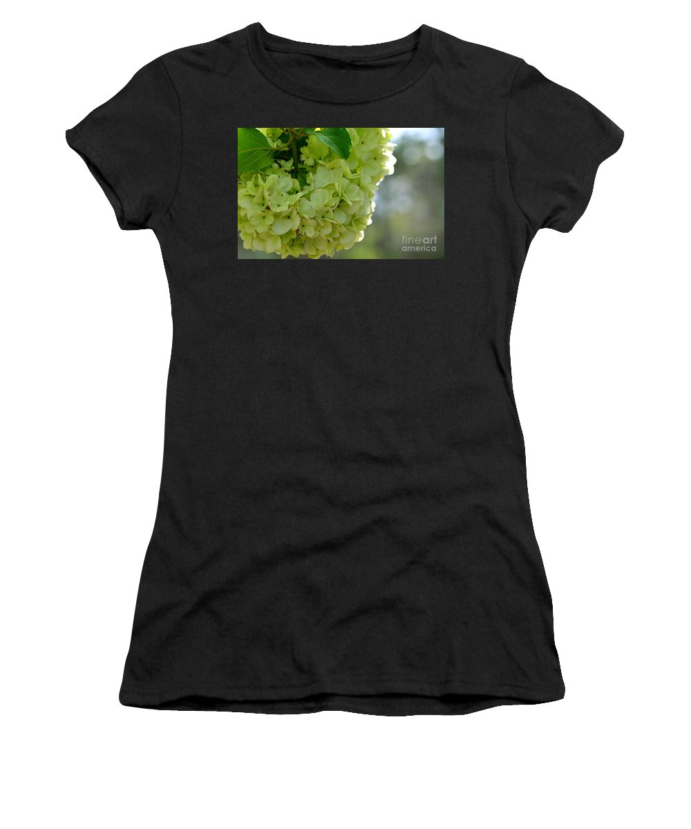 Adrian-deleon Women's T-Shirt (Athletic Fit) featuring the photograph Spring Is In The Air -vines Botanical Garden by Adrian DeLeon