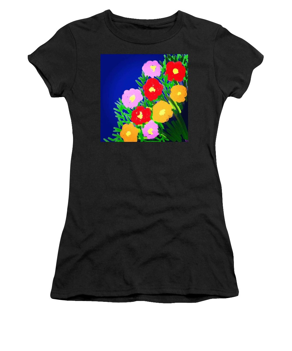 Women's T-Shirt featuring the digital art Spring by Yilmar Henry