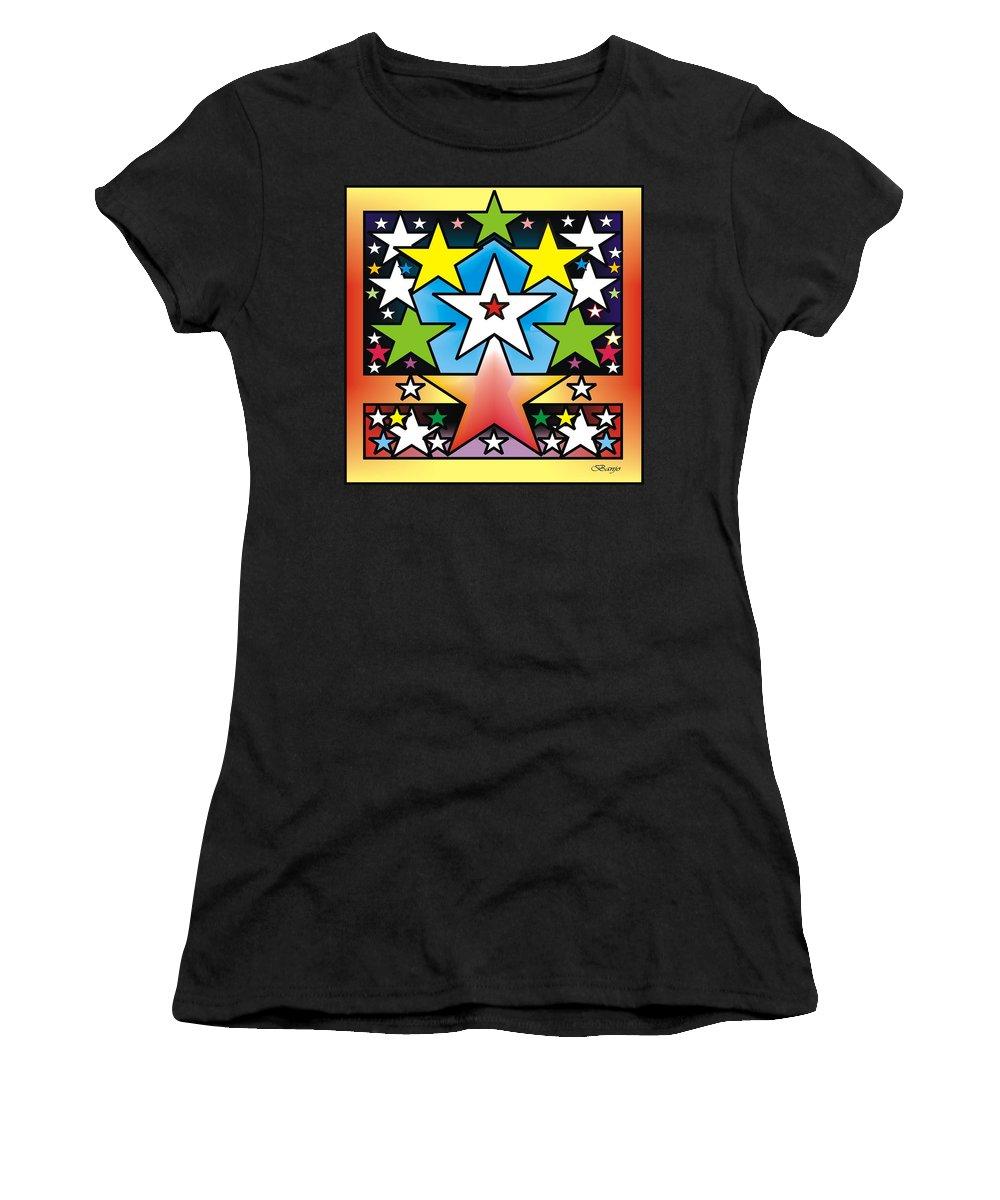 Heaven Women's T-Shirt featuring the digital art Star by Banjo Tunde