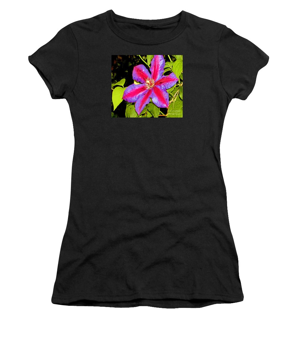 Fine Art Photography Women's T-Shirt featuring the painting Star Treatment by Patricia Griffin Brett