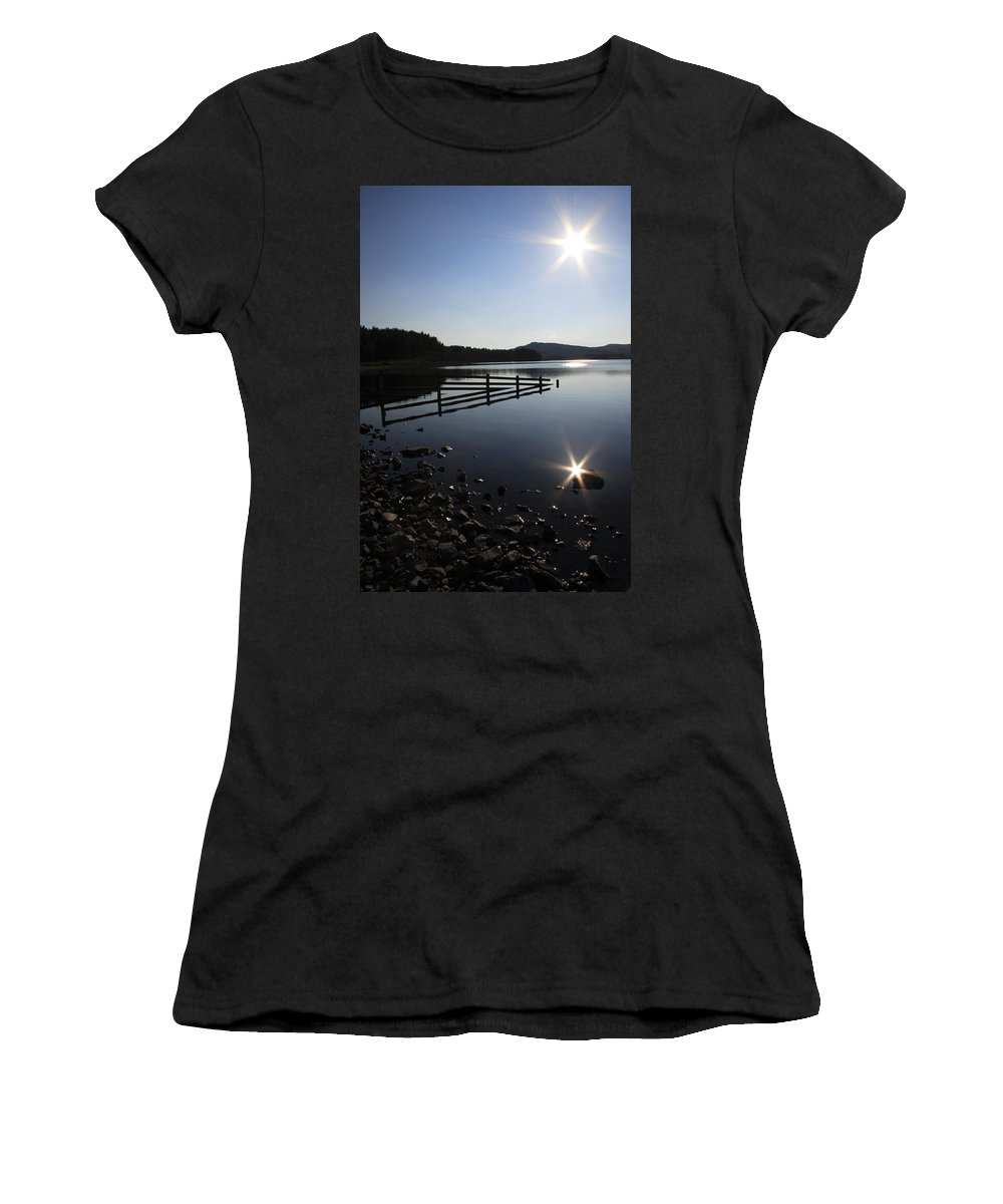 Sun Women's T-Shirt (Athletic Fit) featuring the photograph Starburst by Phil Crean