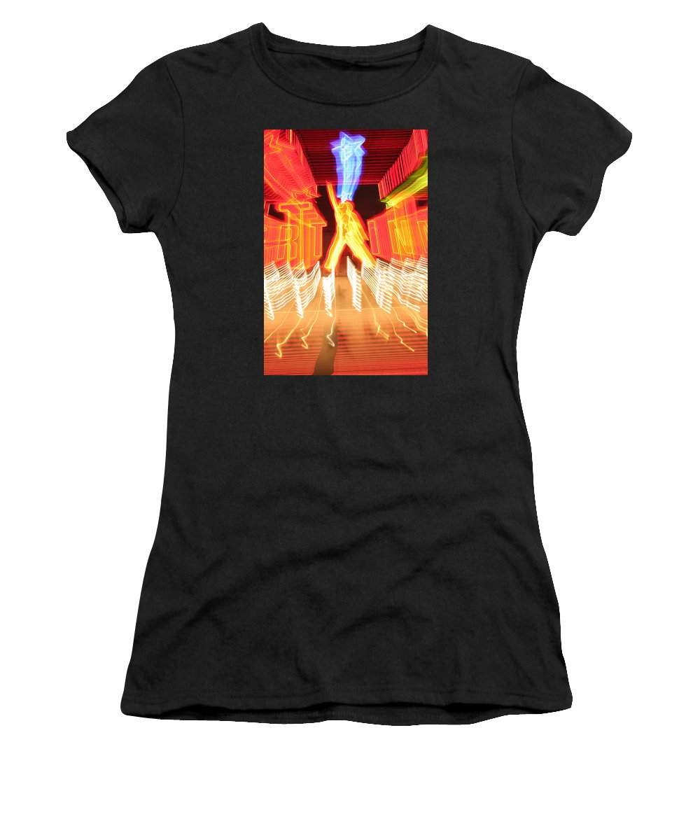 Hollywood Women's T-Shirt featuring the photograph Starstruck by Ric Bascobert