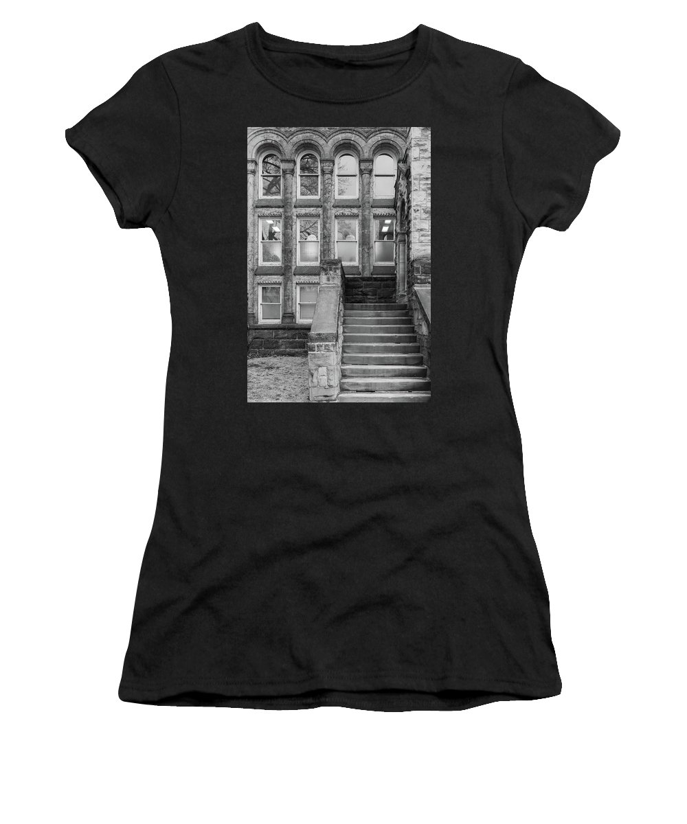 University Women's T-Shirt (Athletic Fit) featuring the photograph Steps Up by Ty Agha