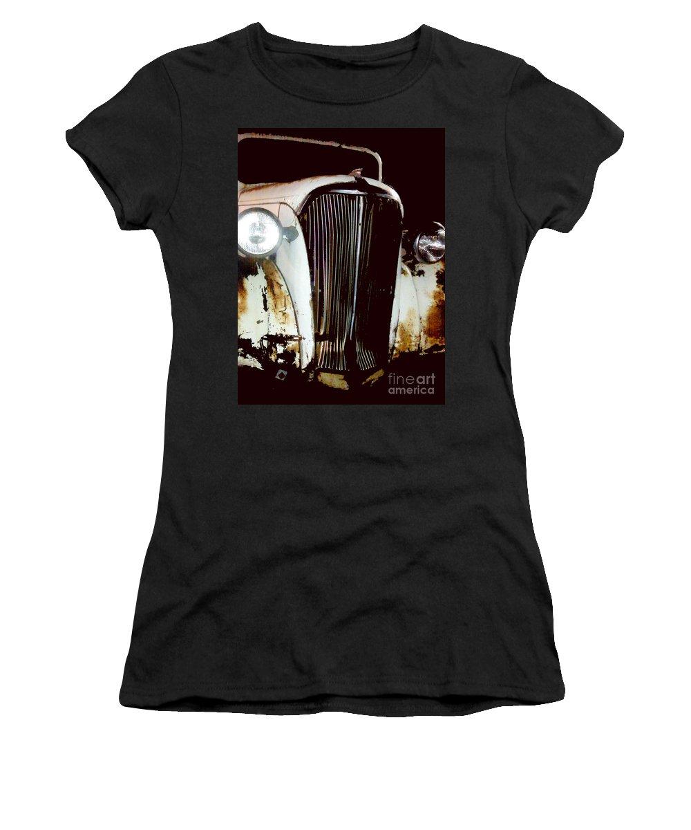 Trucks Women's T-Shirt featuring the photograph Still Truckin by Amanda Barcon