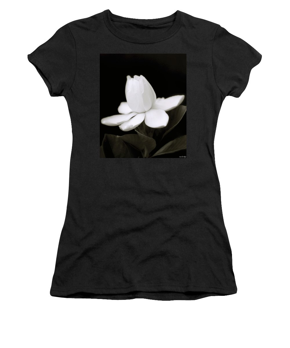 Flower Women's T-Shirt (Athletic Fit) featuring the photograph Summer Fragrance by Holly Kempe