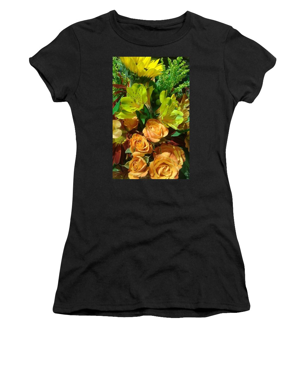 Landscape Women's T-Shirt (Athletic Fit) featuring the photograph Summer Love by Derrell Simpson
