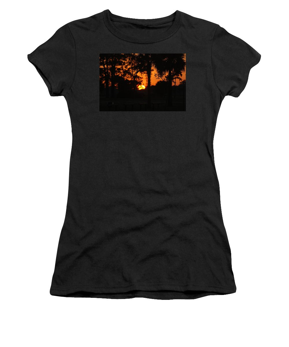 Nature Women's T-Shirt (Athletic Fit) featuring the photograph Sun Ball by Rob Hans