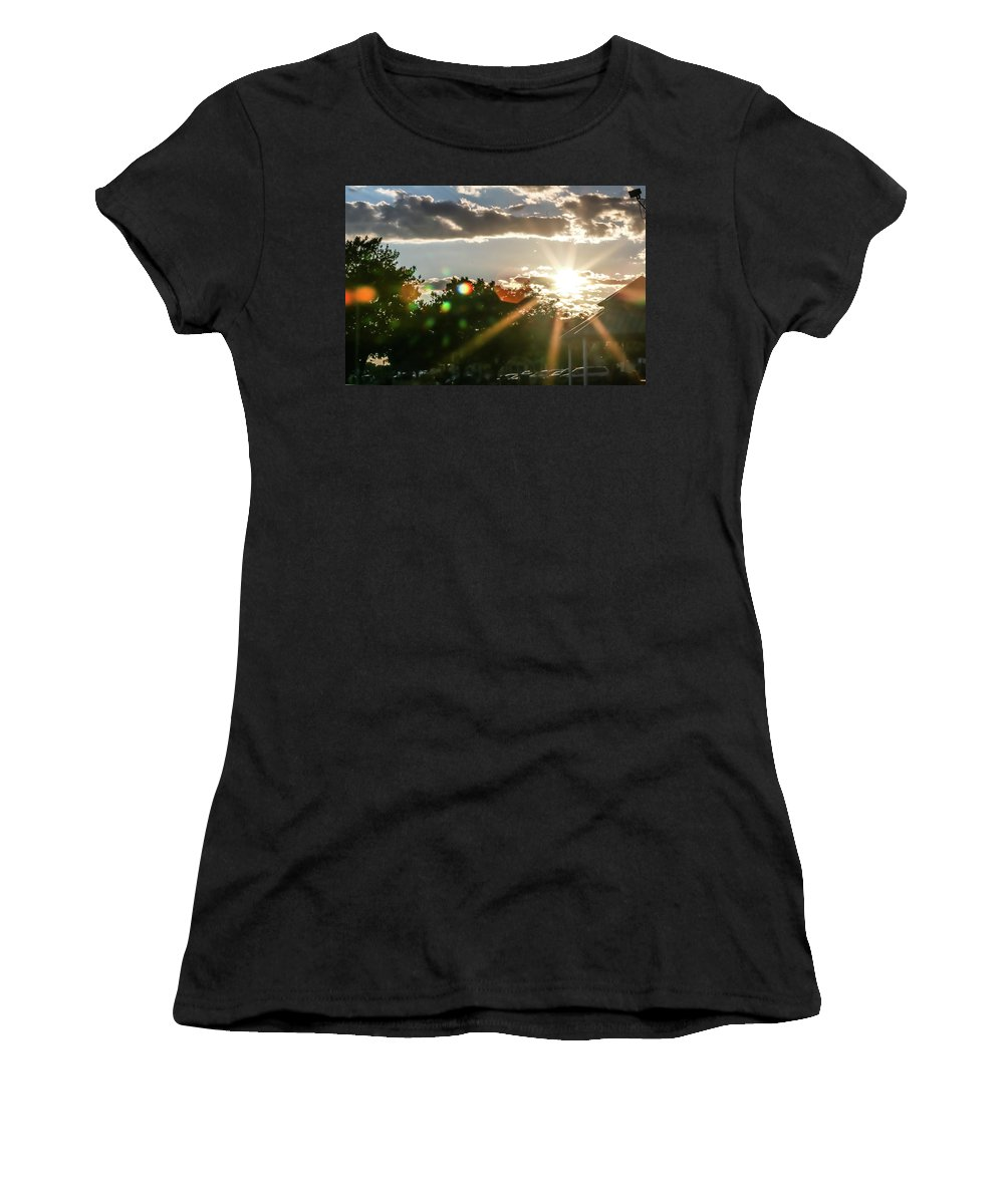 Sun Women's T-Shirt (Athletic Fit) featuring the photograph Jbhartgallery by Jeff Honforloco