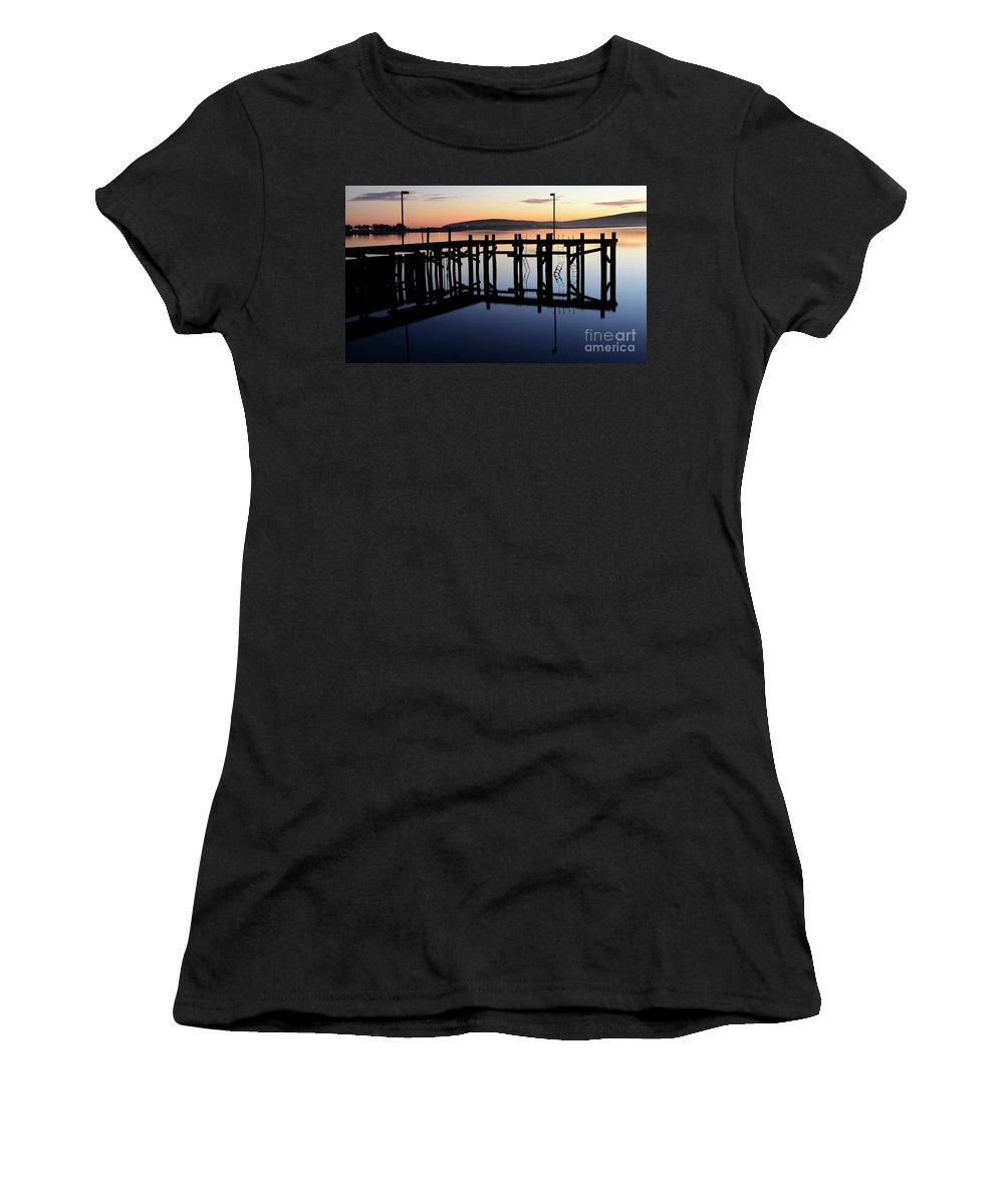 California Women's T-Shirt featuring the photograph Sunset Magic Bodega Bay California by Bob Christopher