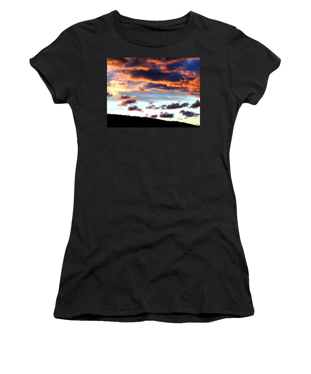 Sunset Women's T-Shirt (Athletic Fit) featuring the photograph Sunset Supreme by Will Borden