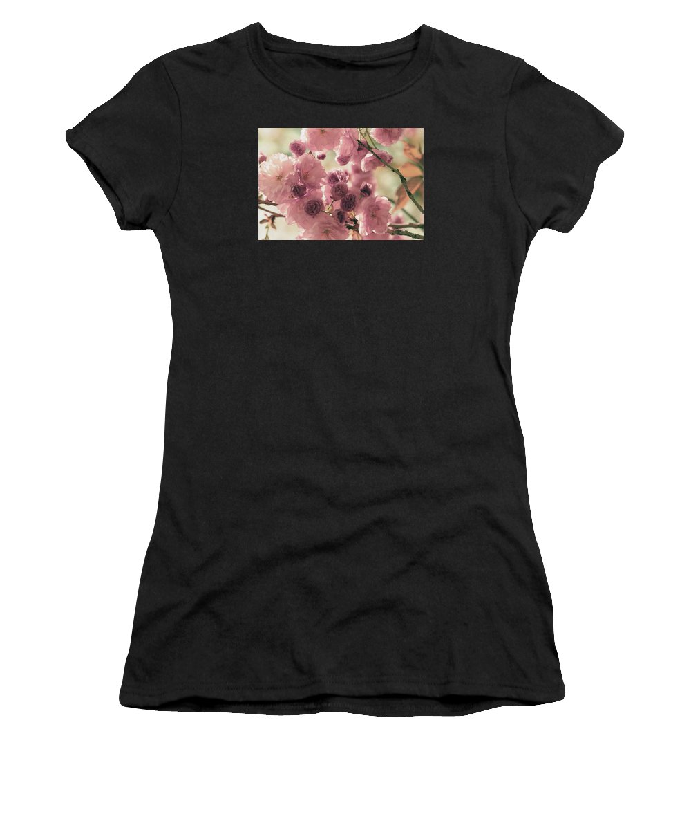 Women's T-Shirt (Athletic Fit) featuring the photograph Sweet Spring Blossoms by The Art Of Marilyn Ridoutt-Greene