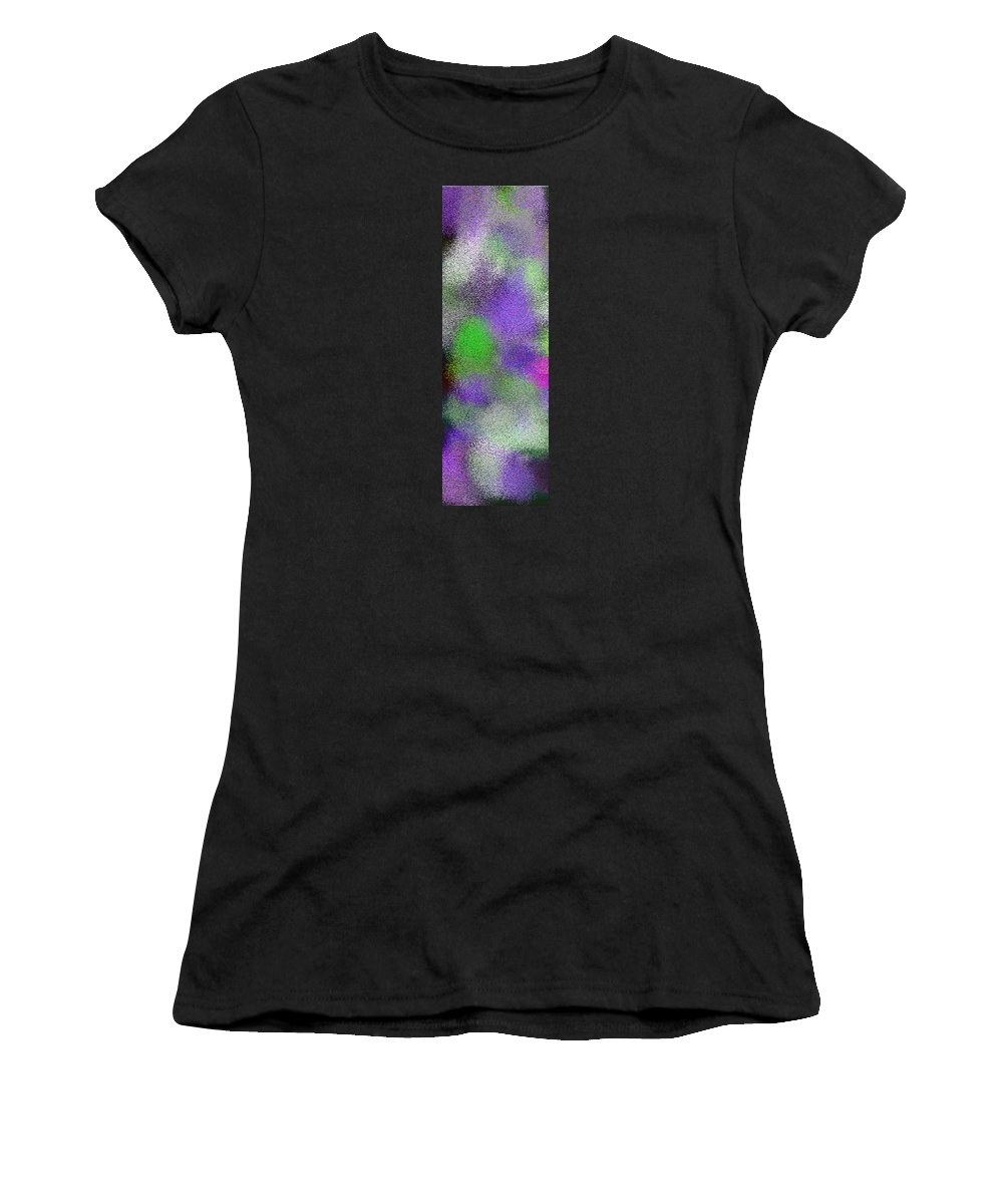 Abstract Women's T-Shirt (Athletic Fit) featuring the digital art T.1.308.20.1x3.1706x5120 by Gareth Lewis