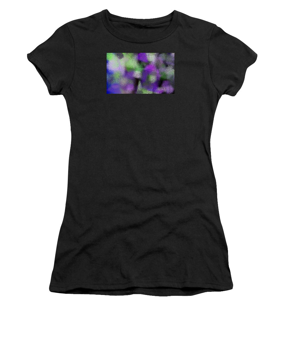 Abstract Women's T-Shirt (Athletic Fit) featuring the digital art T.1.315.20.5x3.5120x3072 by Gareth Lewis