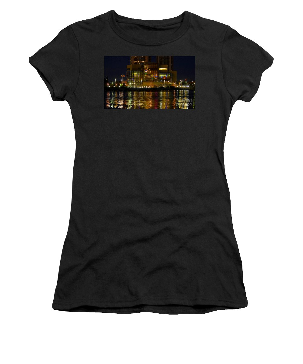 Tampa Bay History Center Women's T-Shirt (Athletic Fit) featuring the photograph Tampa Bay History Center by David Lee Thompson