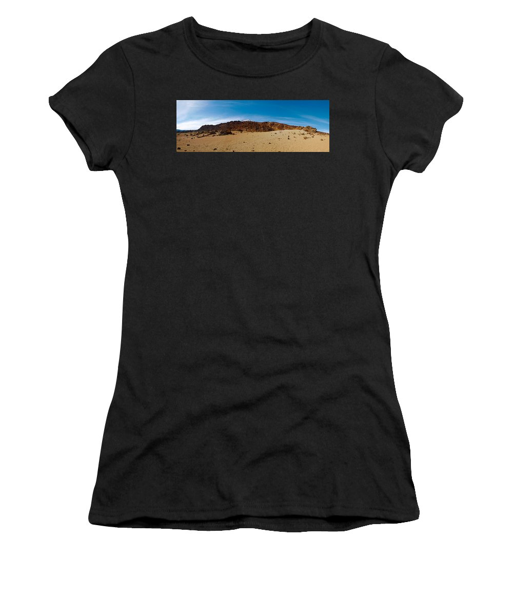Landscape Women's T-Shirt (Athletic Fit) featuring the photograph Teide Nr 15 by Jouko Lehto