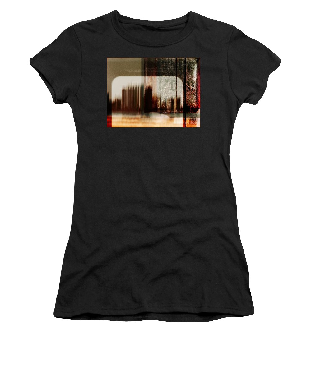 Dipasquale Women's T-Shirt (Athletic Fit) featuring the photograph That Day In The City When We Lost Track Of Time by Dana DiPasquale