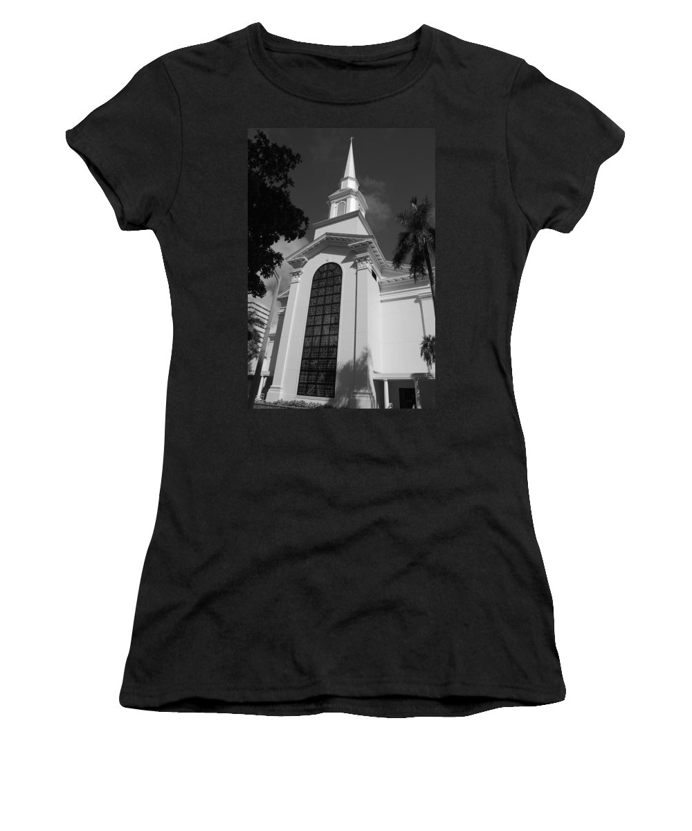 Architecture Women's T-Shirt (Athletic Fit) featuring the photograph Thats Church by Rob Hans