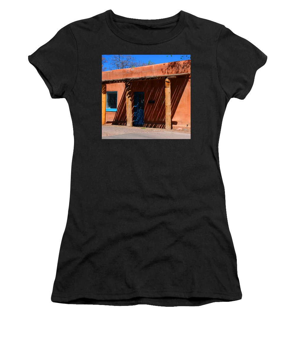 Santa Fe Women's T-Shirt (Athletic Fit) featuring the photograph The Big Shade by Susanne Van Hulst