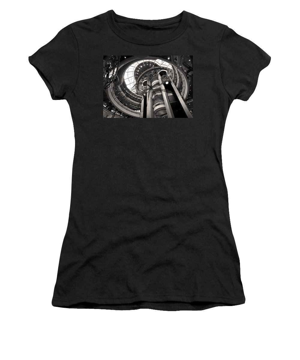 Centrum Women's T-Shirt (Athletic Fit) featuring the photograph The Centrum by Steven Sparks