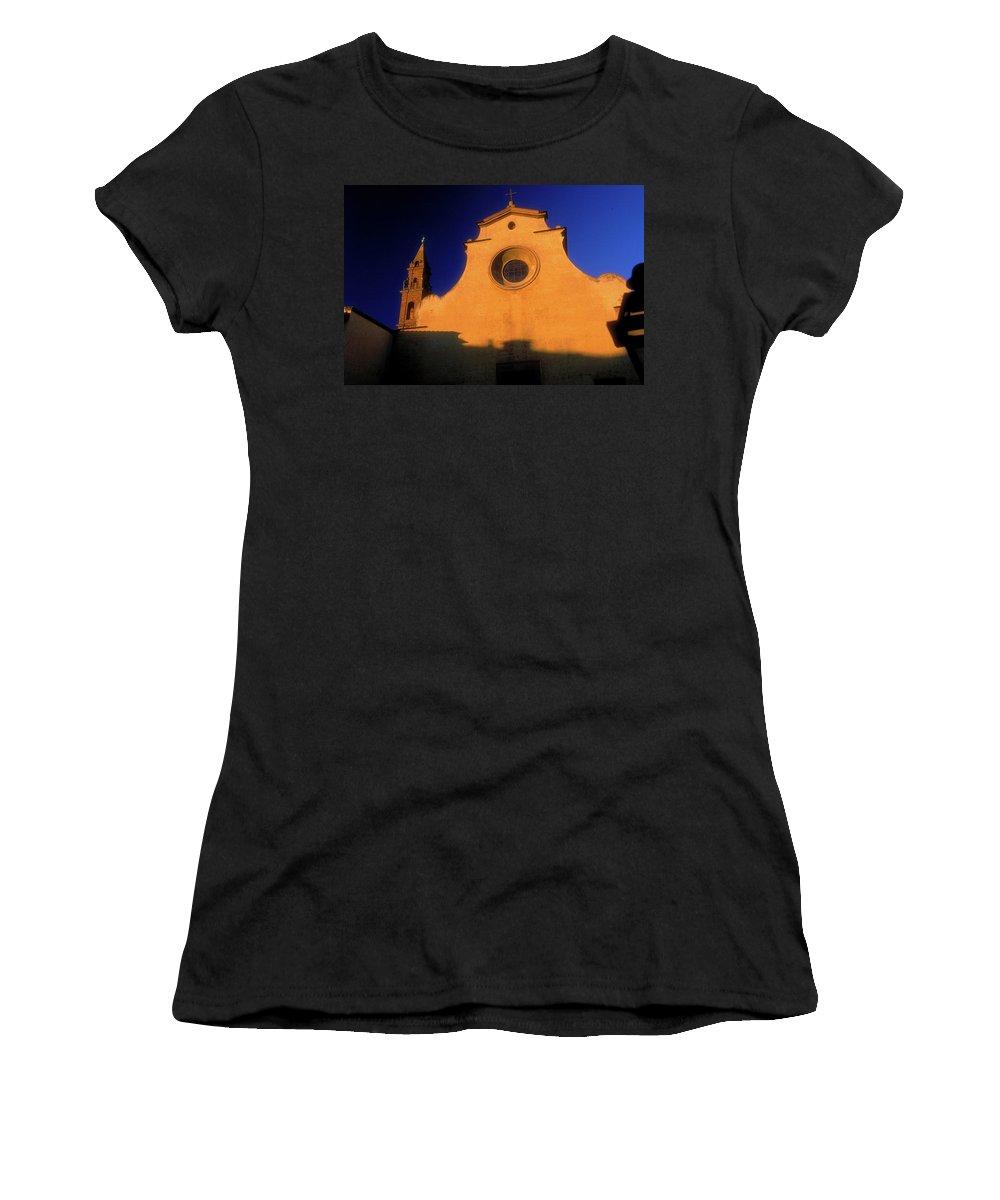 Church Women's T-Shirt featuring the photograph The Church by Surjanto Suradji