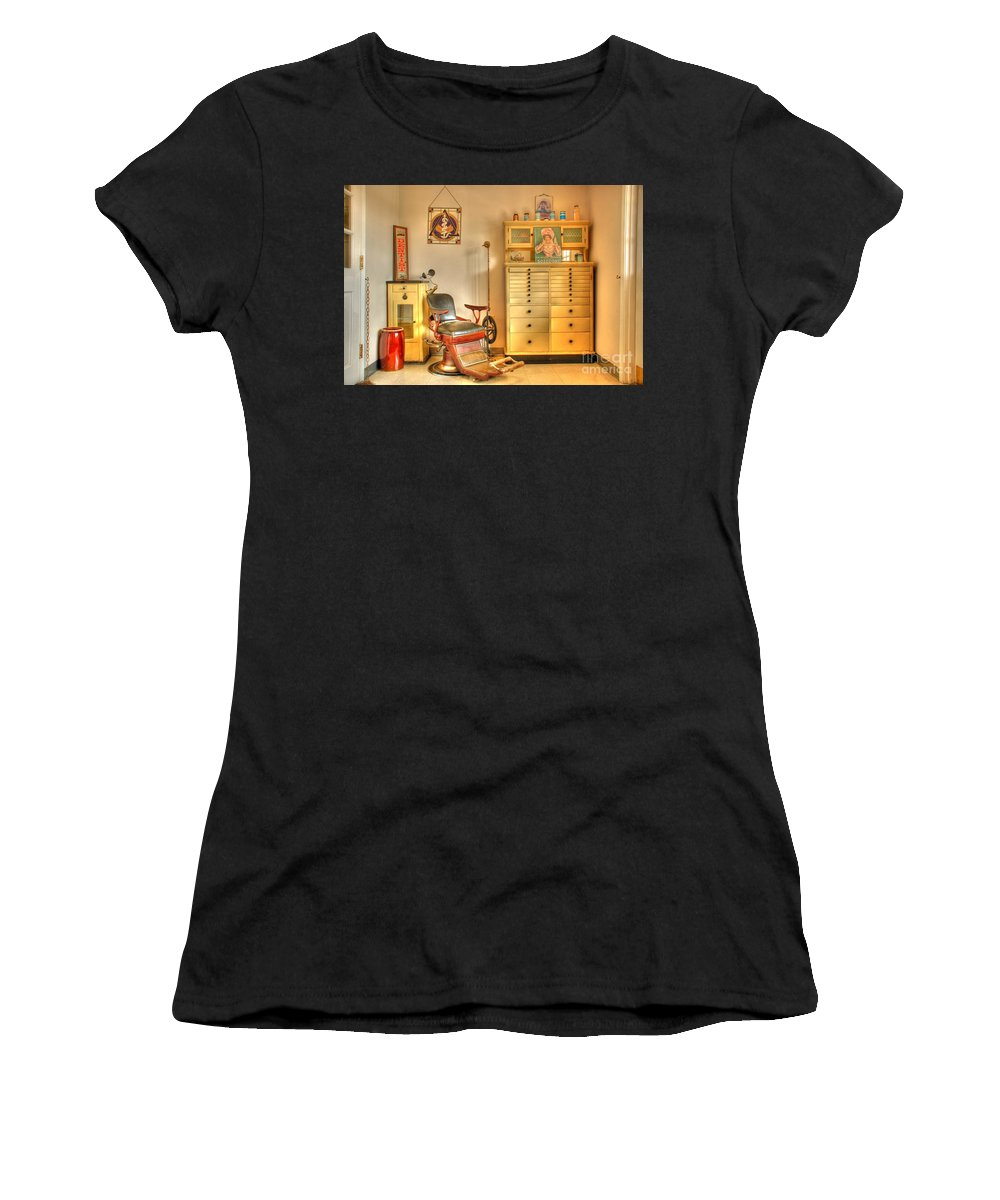 Dentist Office Women's T-Shirt (Athletic Fit) featuring the photograph The Dentist Office by Tony Bazidlo