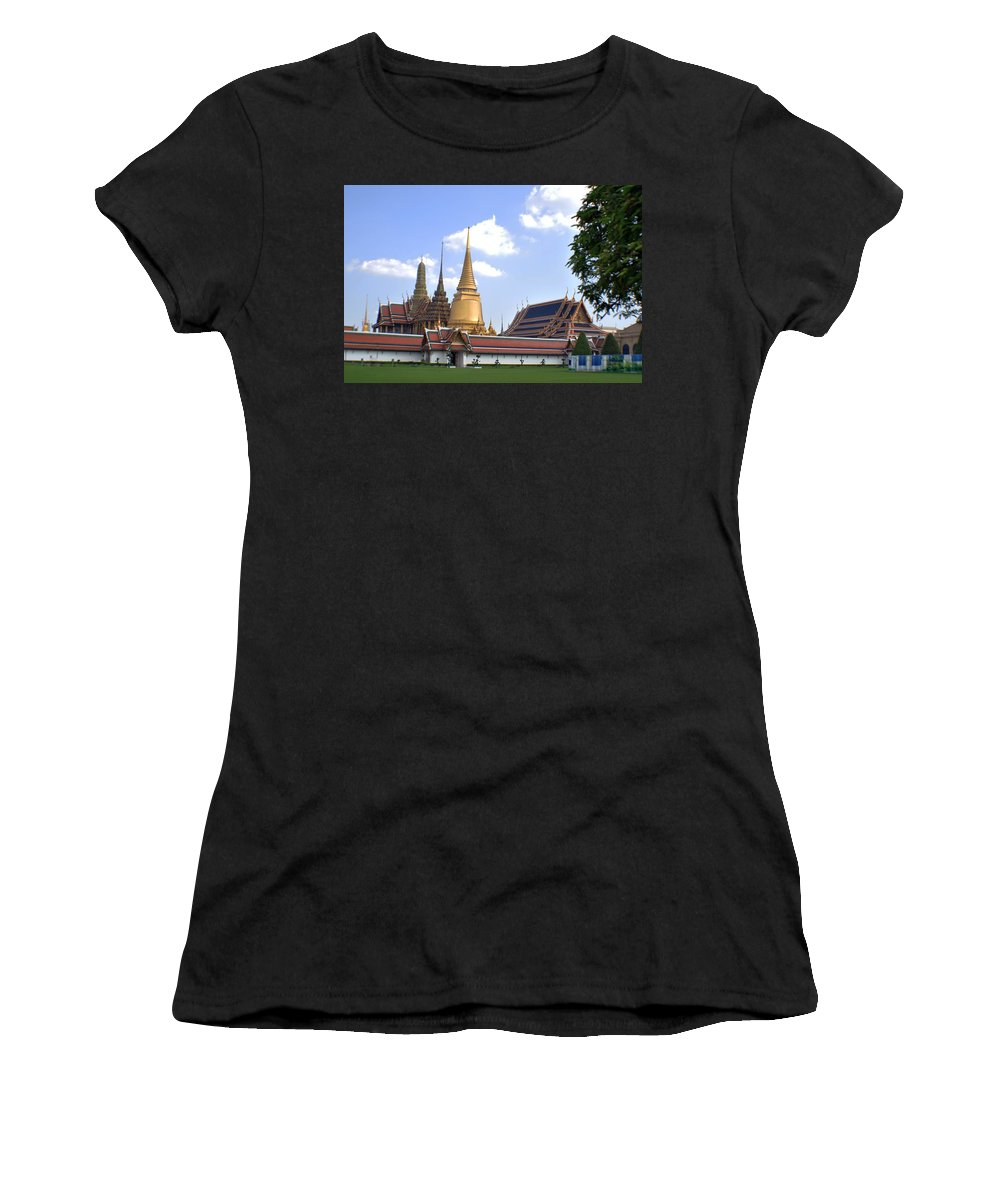 Grand Palace Women's T-Shirt (Athletic Fit) featuring the photograph The Grand Palace by John Hughes