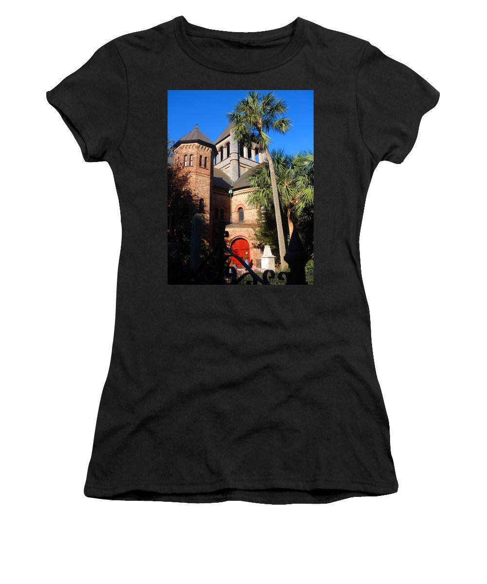 Photography Women's T-Shirt (Athletic Fit) featuring the photograph The Holy City by Susanne Van Hulst