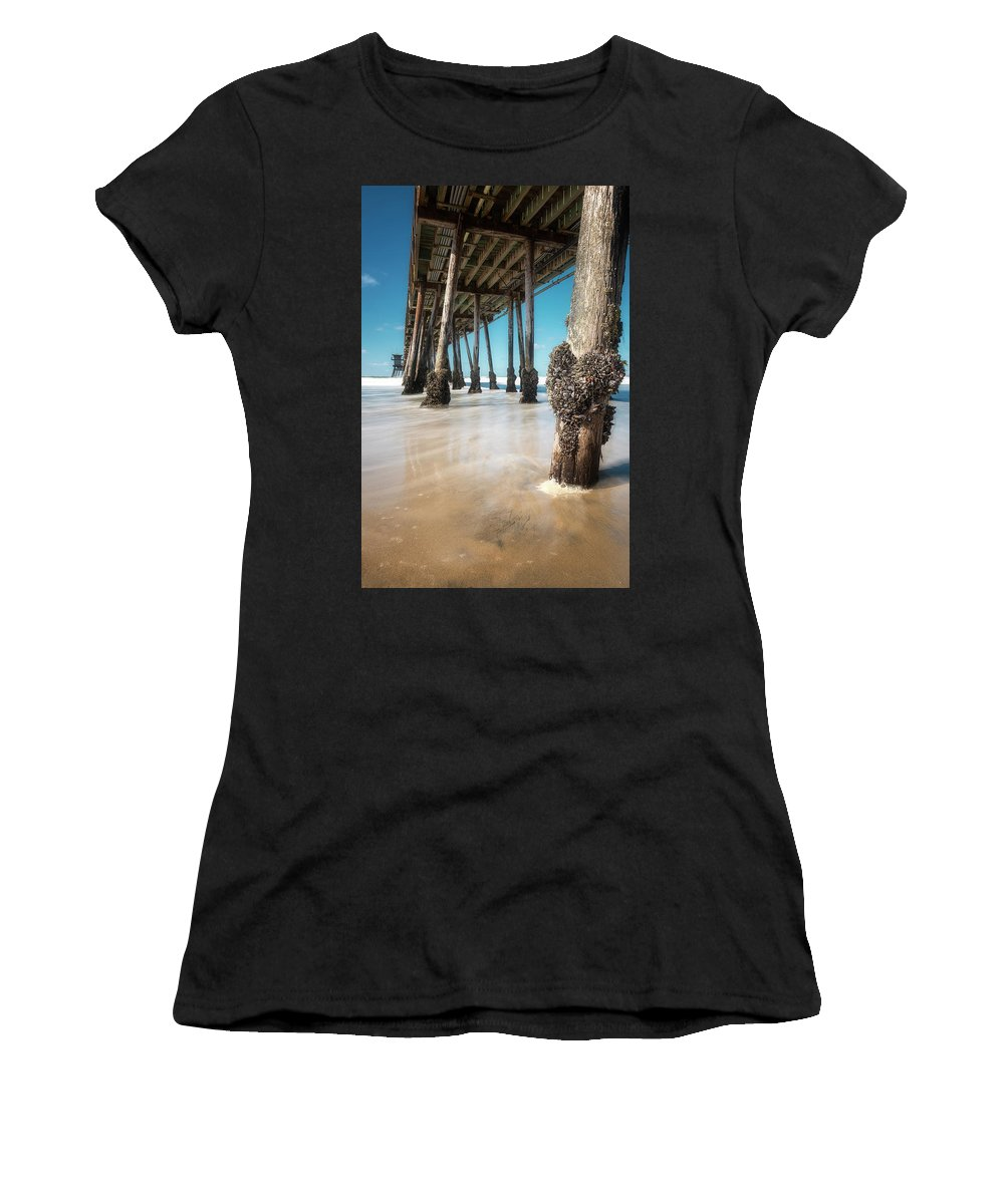 Barnacle Women's T-Shirt featuring the photograph The Life Of A Barnacle by Ryan Manuel