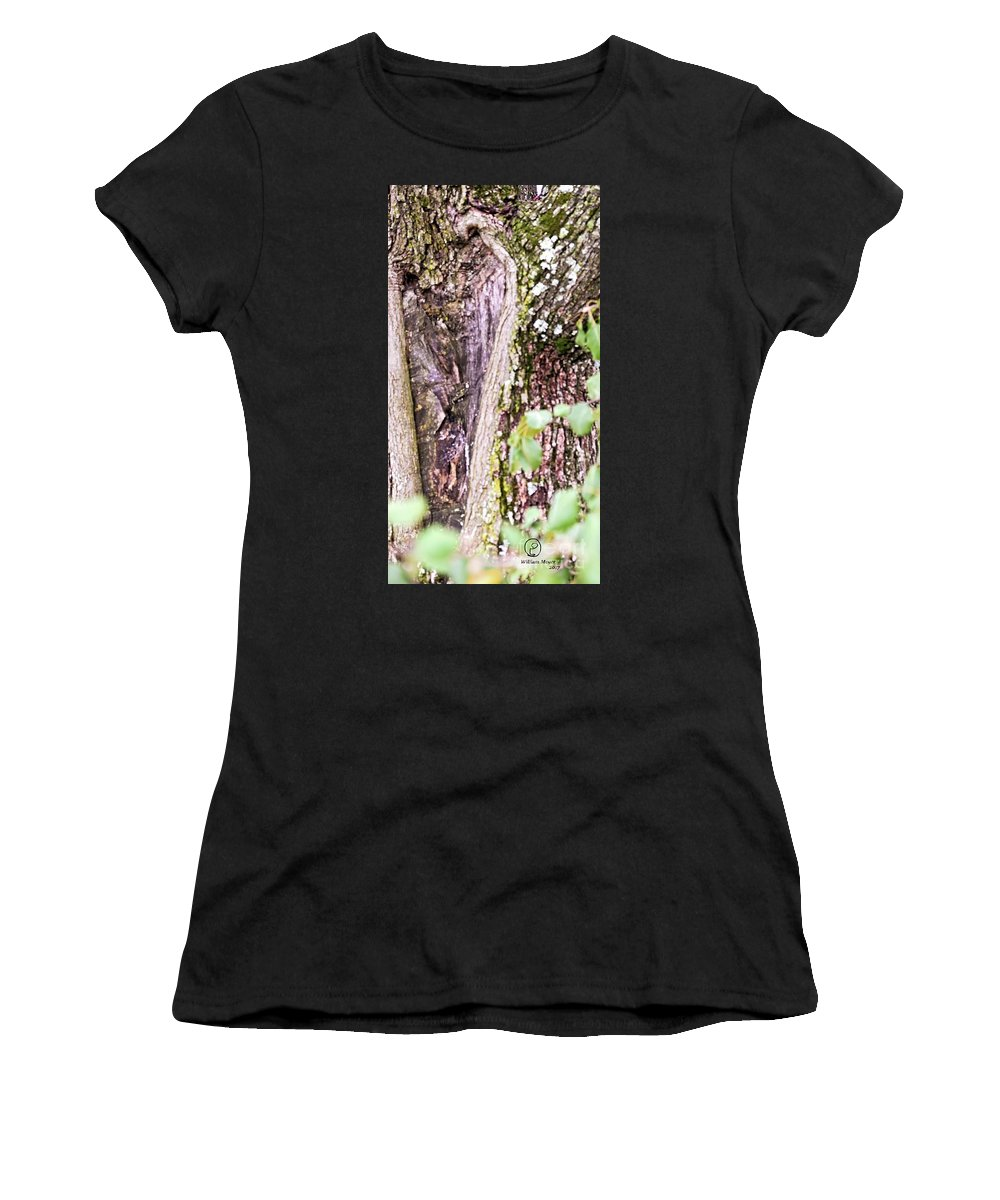 Tree Women's T-Shirt (Athletic Fit) featuring the photograph The Other Woman by William Meyer