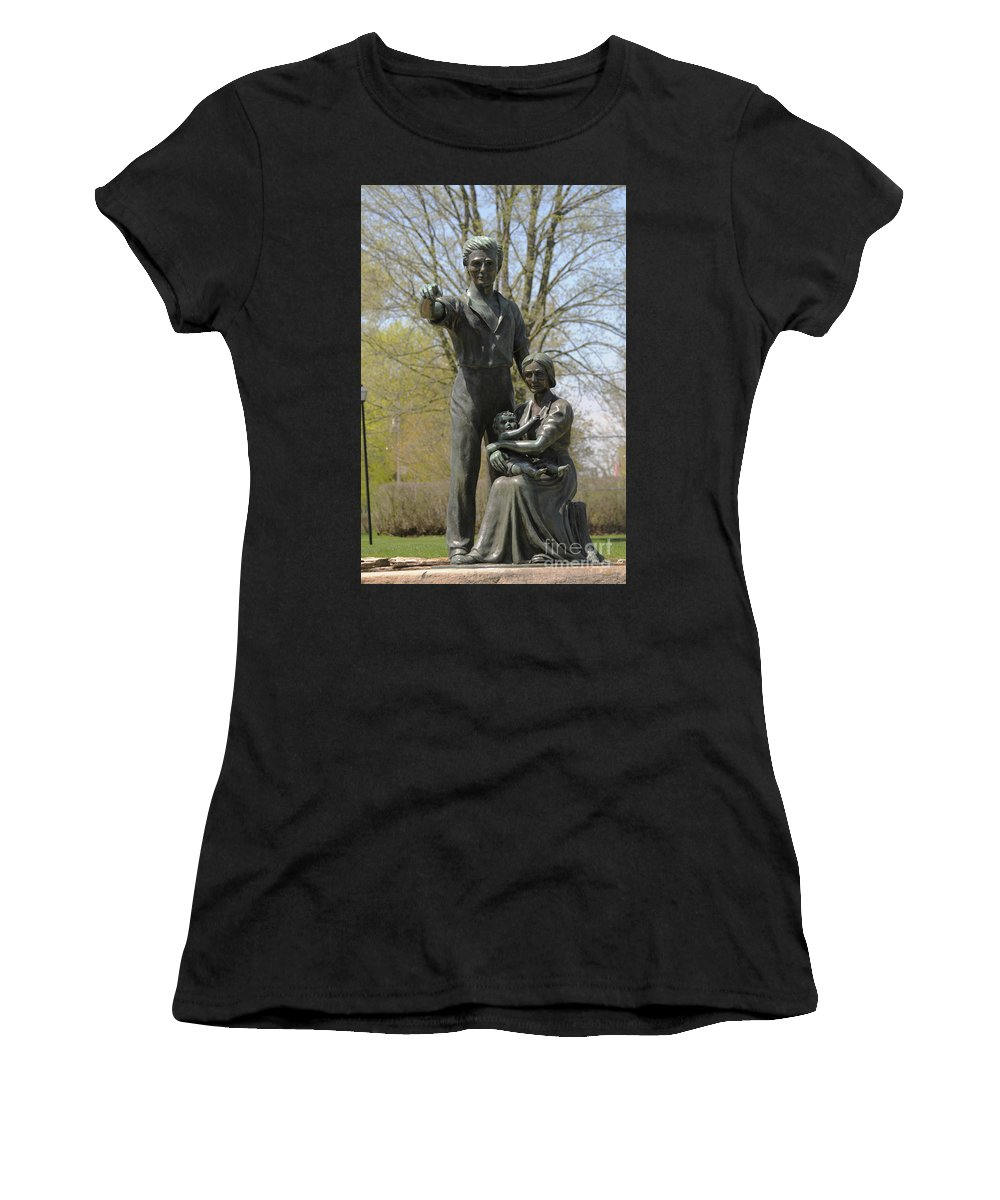 The Pioneers Women's T-Shirt featuring the photograph The Pioneers by Lana Raffensperger