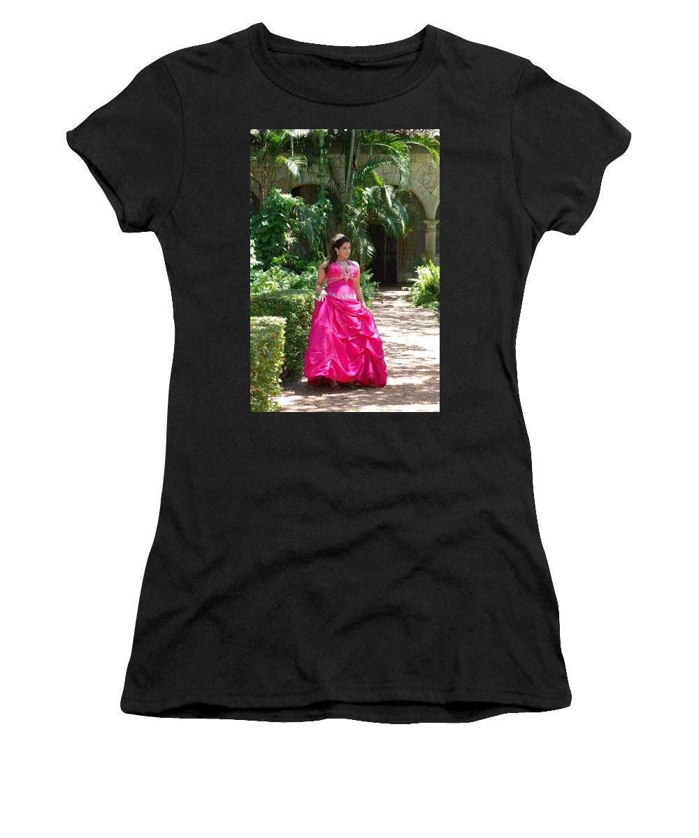 Girl Women's T-Shirt (Athletic Fit) featuring the photograph The Princess by Rob Hans