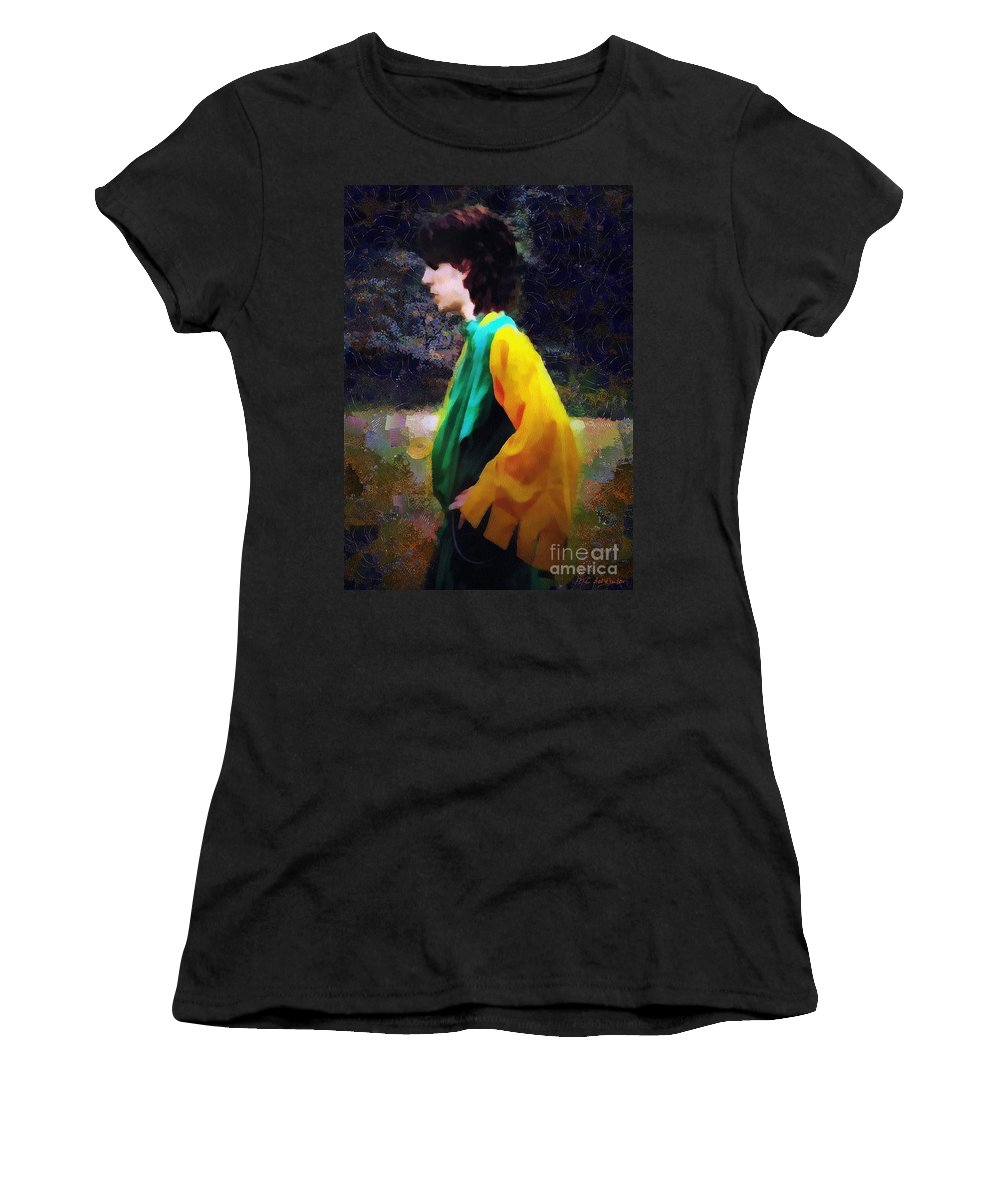 Building Women's T-Shirt featuring the painting The Rejected Suitor by RC DeWinter