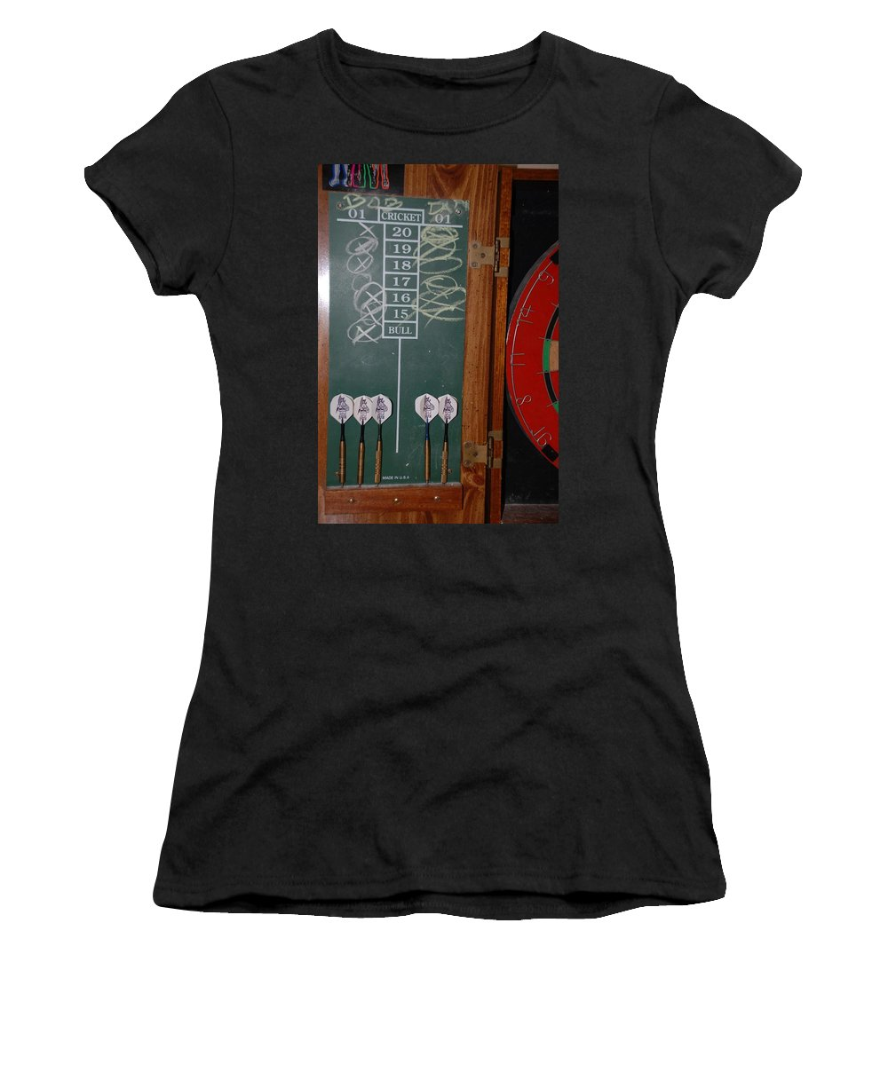 Macro Women's T-Shirt (Athletic Fit) featuring the photograph The Score by Rob Hans