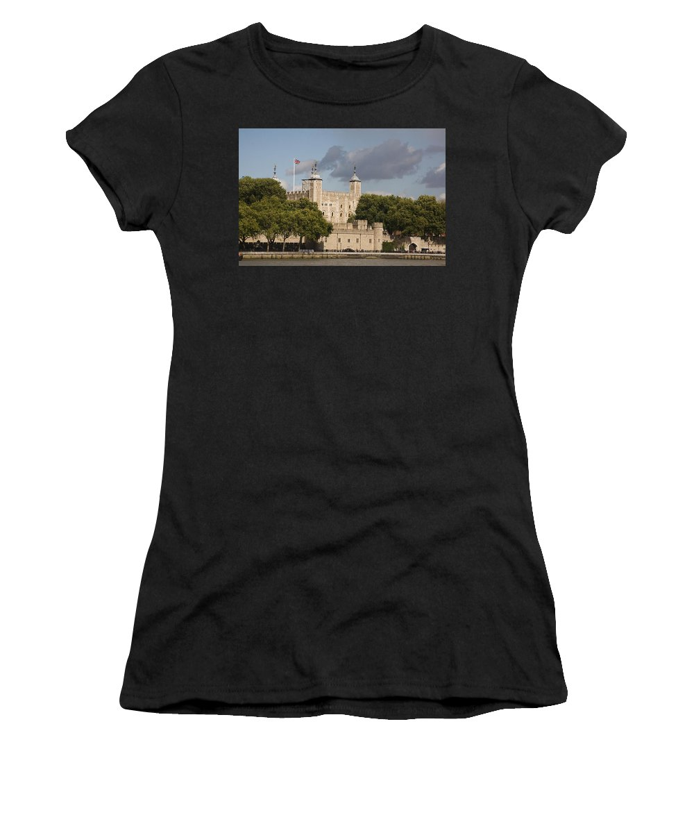 Towers Women's T-Shirt featuring the photograph The Tower Of London. by Christopher Rowlands