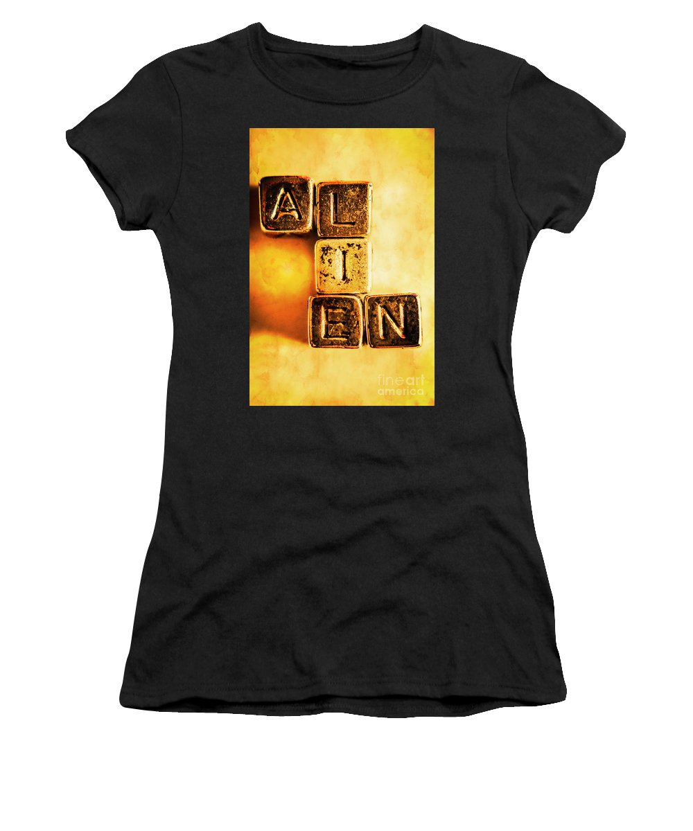 Extraterrestrial Women's T-Shirt featuring the photograph The Truth Abduction by Jorgo Photography - Wall Art Gallery