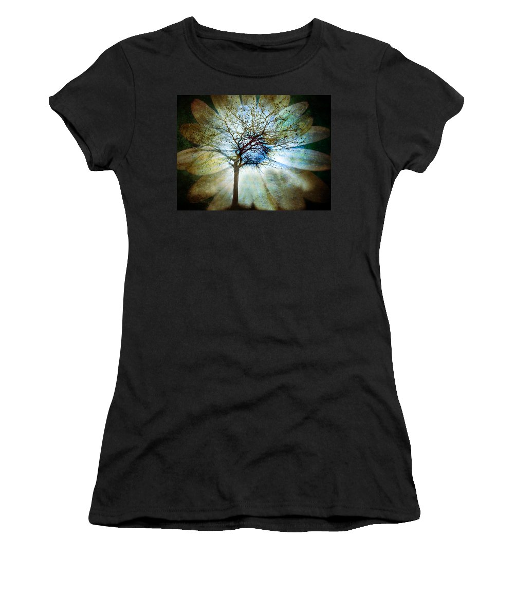 Trees Women's T-Shirt (Athletic Fit) featuring the photograph The Truth Of Trees by Tara Turner