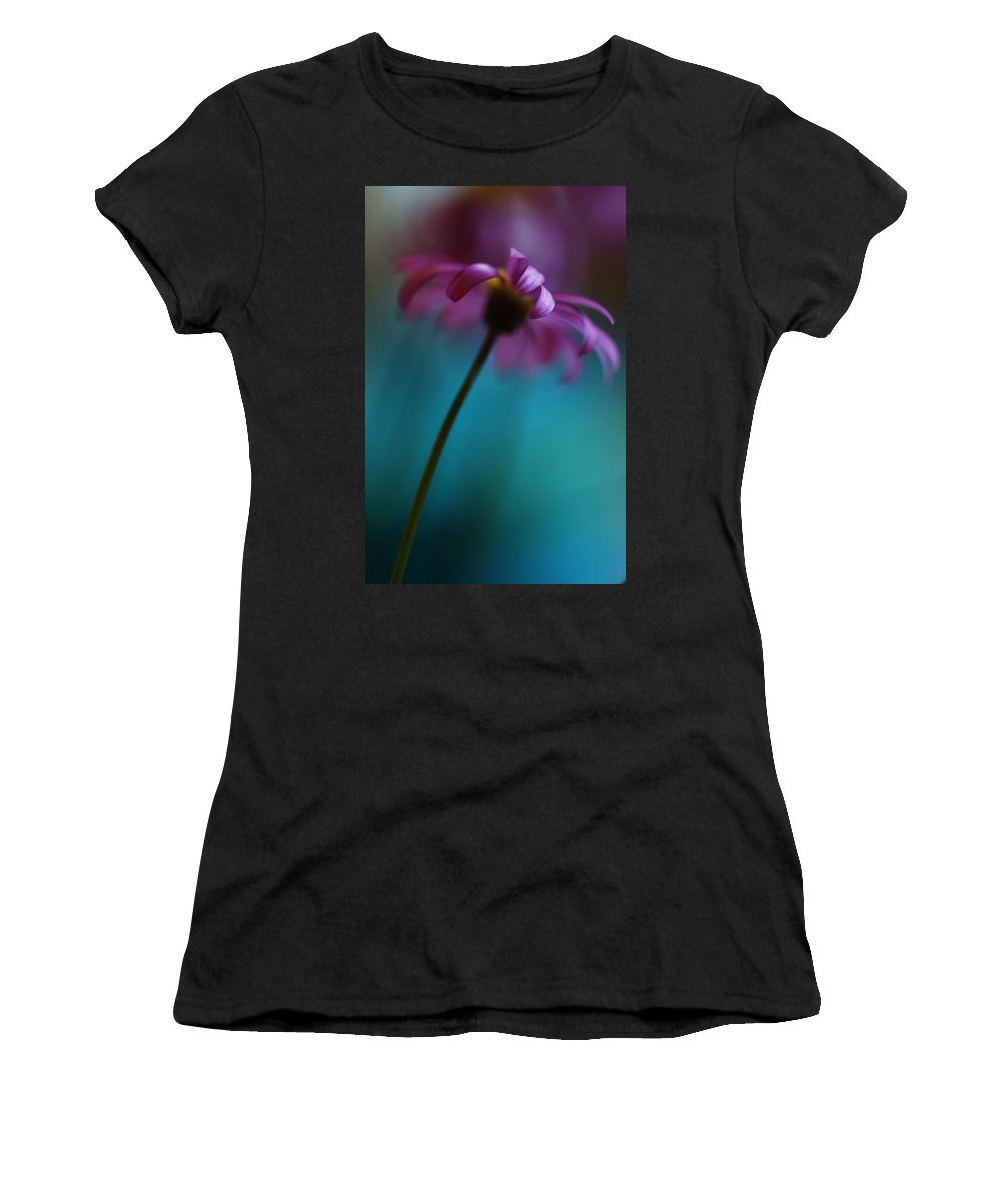 Tags: Women's T-Shirt (Athletic Fit) featuring the photograph The View Above by Kym Clarke