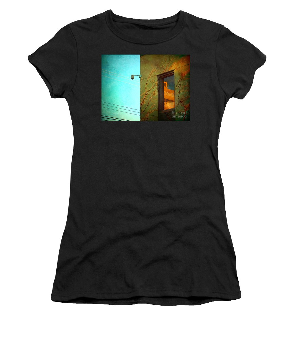 Window Women's T-Shirt (Athletic Fit) featuring the photograph The Way Things Are by Tara Turner