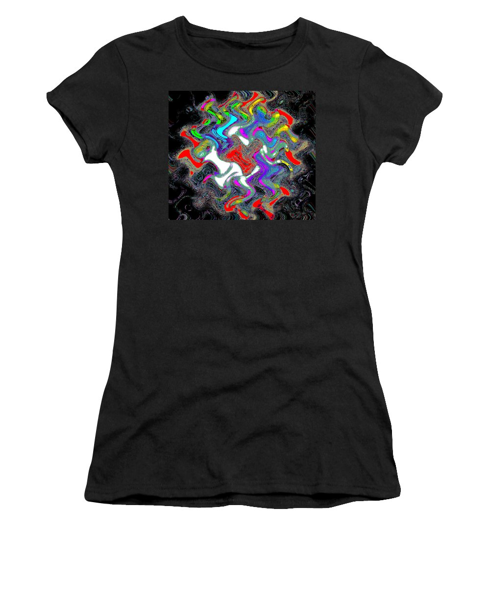 Flowers Women's T-Shirt (Athletic Fit) featuring the photograph Things In The Night by Bill Cannon