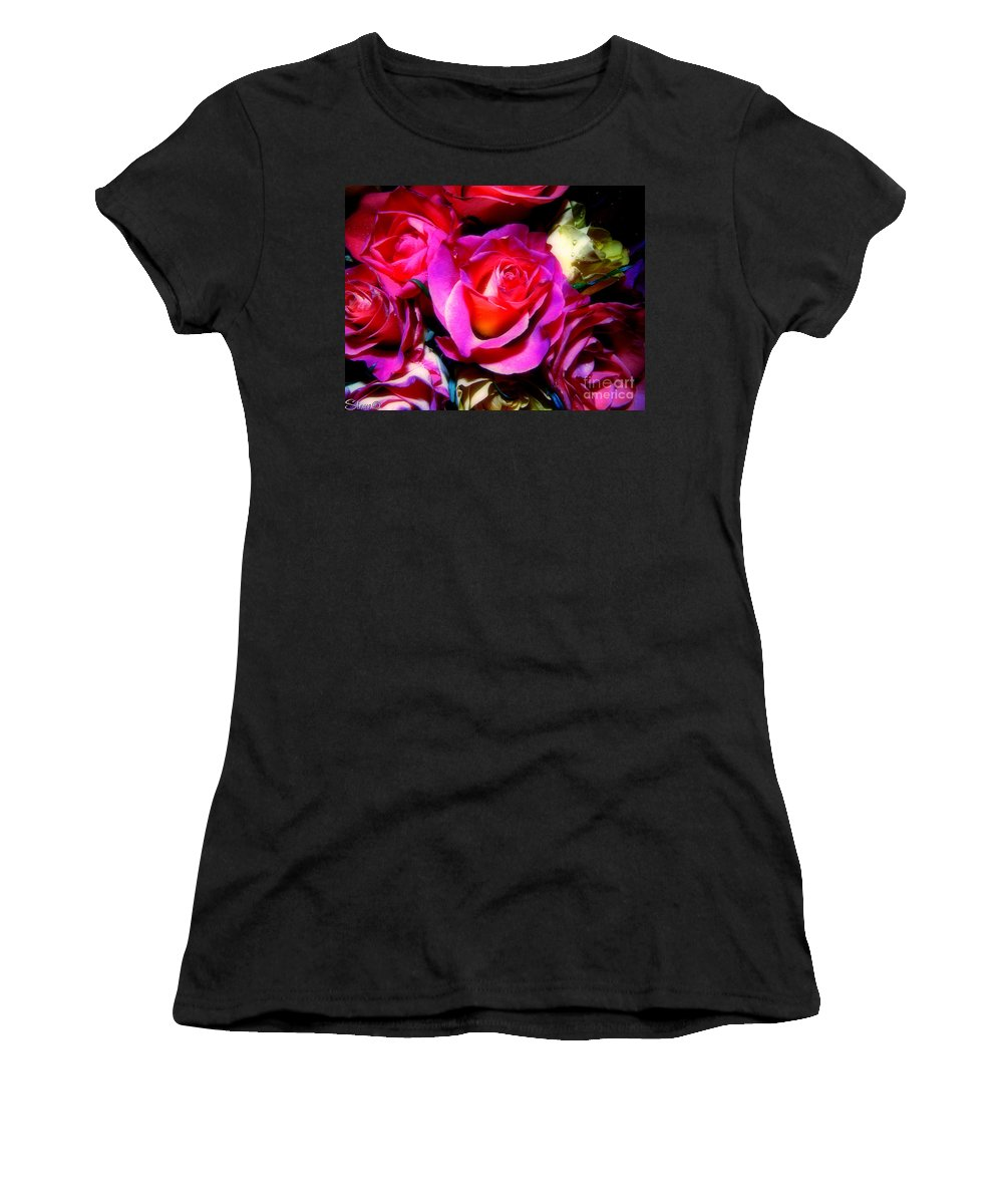 Rose Women's T-Shirt featuring the photograph Thirty Six 4 by September Stone