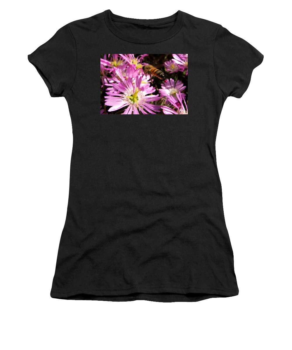 Bee Women's T-Shirt (Athletic Fit) featuring the photograph This Will Do by Chris Brannen