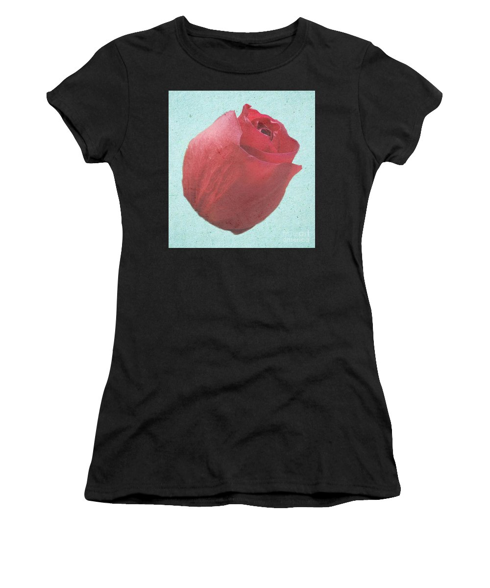 Rose Women's T-Shirt featuring the photograph Thornless by Jeffrey Kolker