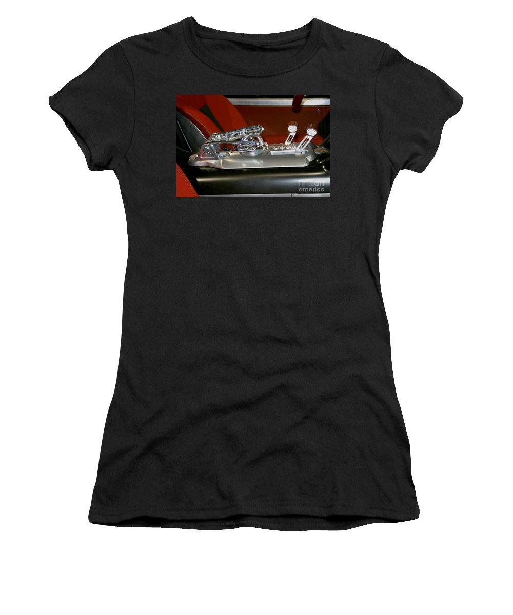 Art Women's T-Shirt featuring the photograph Throttle Up by Alan Look
