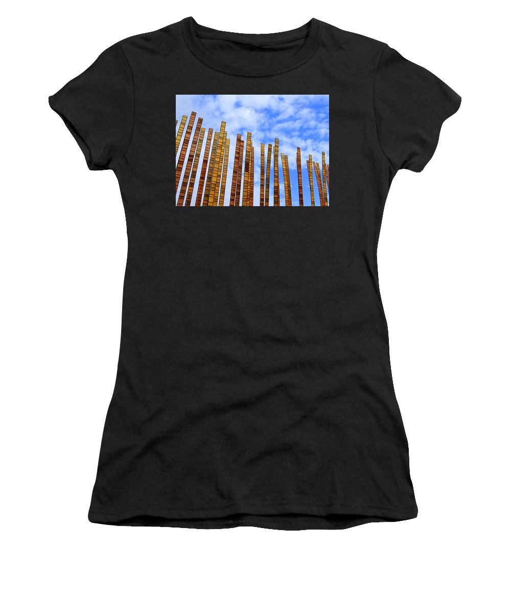 Art Women's T-Shirt (Athletic Fit) featuring the photograph Tickling Heaven by Lori Pessin Lafargue
