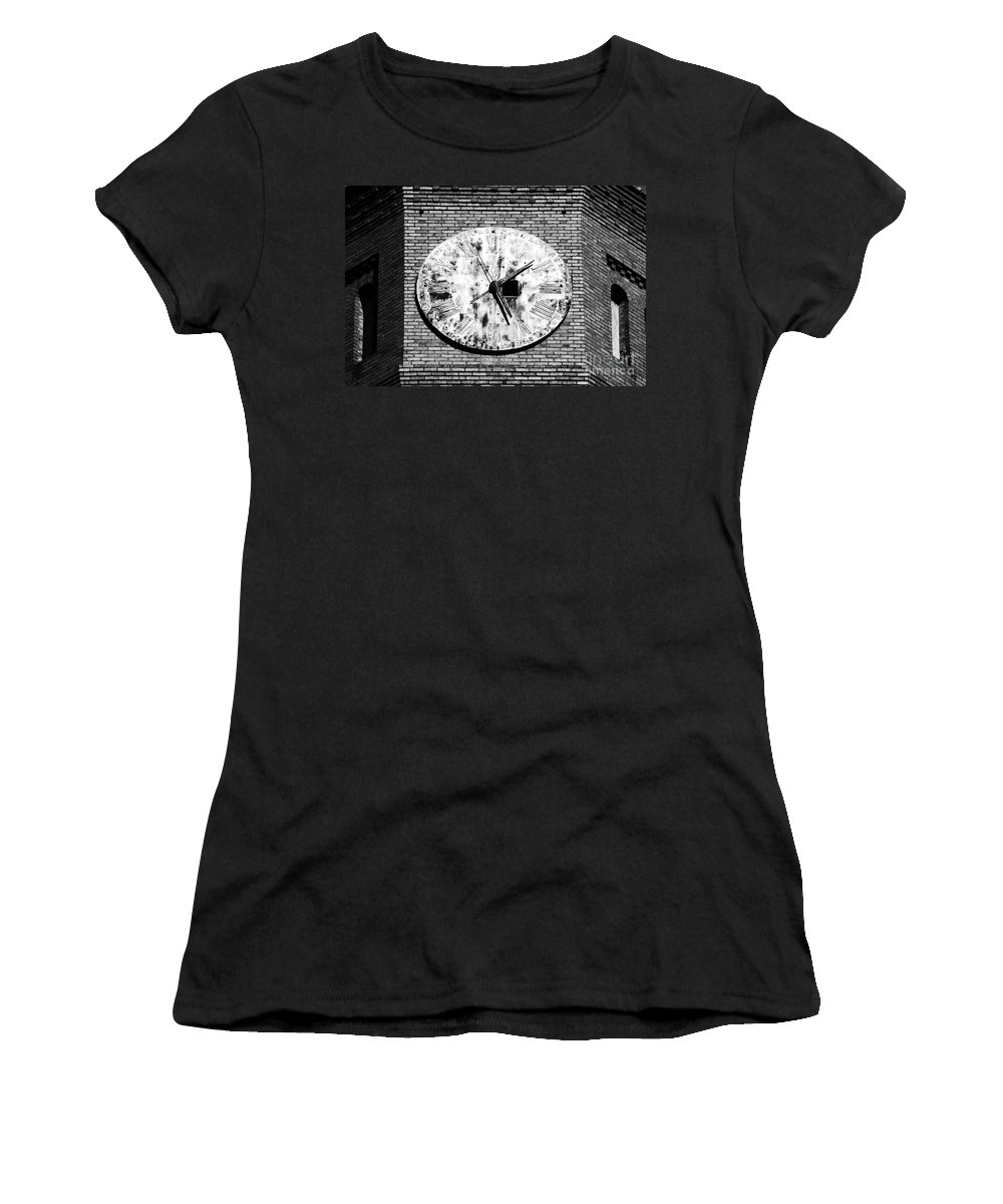 Time Women's T-Shirt (Athletic Fit) featuring the photograph Time by David Lee Thompson