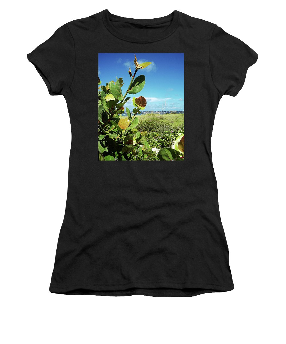 Florida Women's T-Shirt (Athletic Fit) featuring the photograph To The Sky Gp by Chris Andruskiewicz