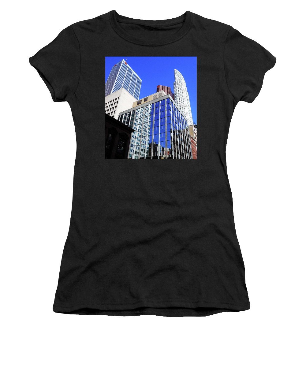Toronto Women's T-Shirt featuring the photograph Toronto 12 by Ron Kandt