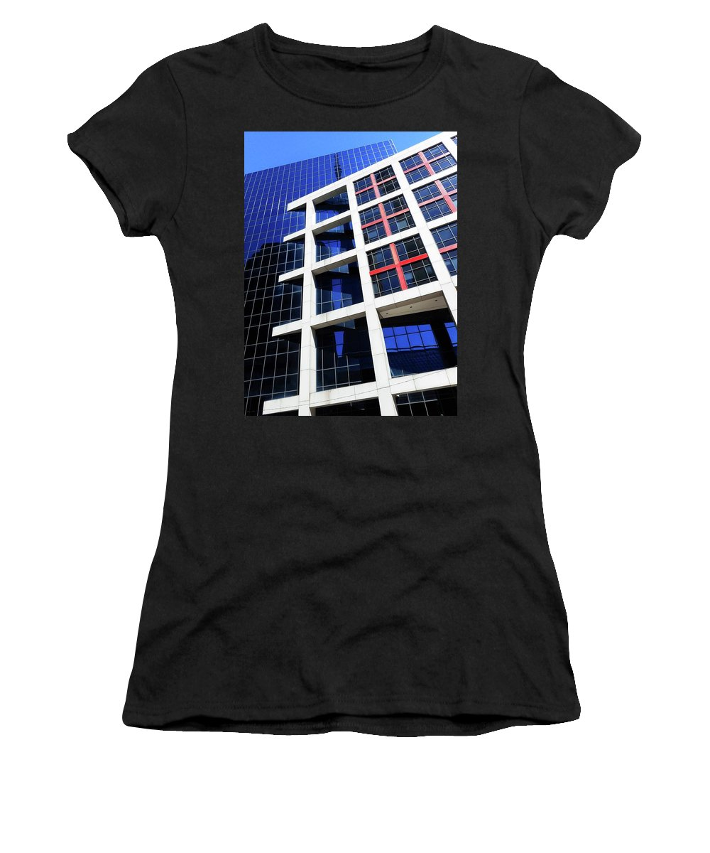 Toronto Women's T-Shirt (Athletic Fit) featuring the photograph Toronto 15 by Ron Kandt